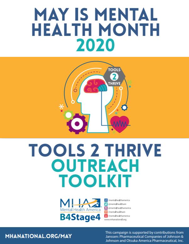 Mental Health Awareness Month 2020 Toolkit Psychu